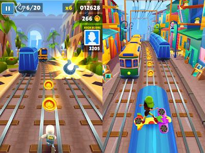 تحميل لعبة سابوي Subway Surfers مهكرة آخر إصدار