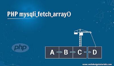 PHP mysqli_fetch_array() Function