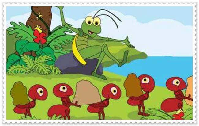 Semut dan Belalang