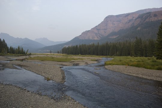 Yellowstone National Park and Soda Butte Creek