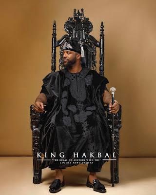 Iyanya King Hakbal Agbada looks