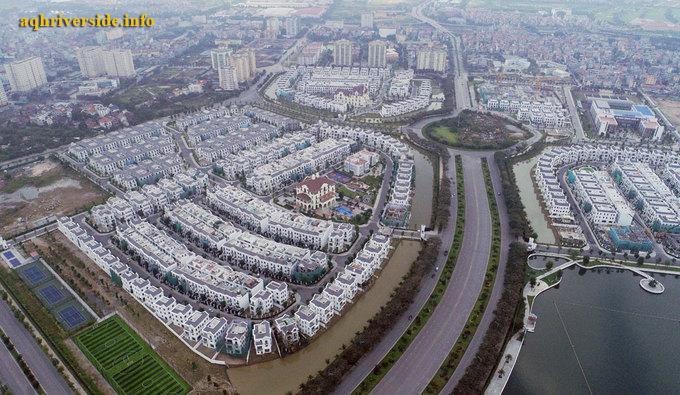 Khu đô thị Vinhomes Riverside tại Long Biên.