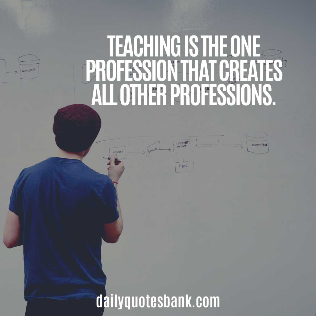 Best Quotes For Teachers Appreciation
