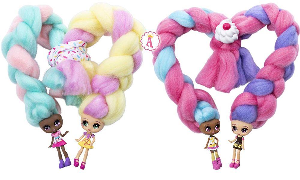 Куклы с волосами из сахарной ваты Candylocks 2019