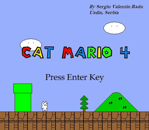 Game Cat Mario