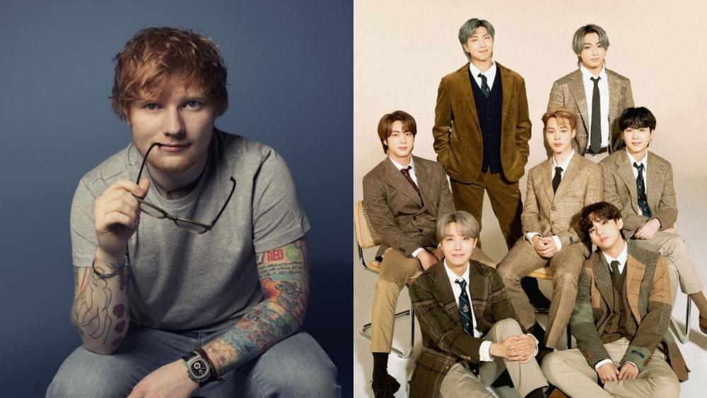 BTS' 'Permission to Dance' Tops Billboard Chart, Ed Sheeran Says Thank You