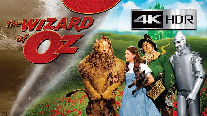 El mago de Oz (1939) 4K UHD [HDR] Latino-Castellano-Ingles