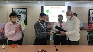 NTPC signed MoU with IIFM, Bhopal
