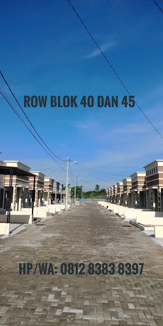 Lebar jalan di Taman Palem Mas Tanjung Morawa Medan
