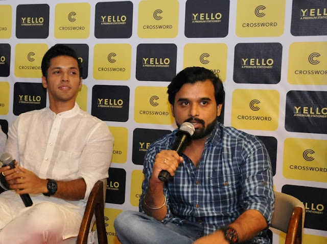 Ace authors Durjoy Datta and Sudeep Nagarkar at the launch of Crossword store in Viviana Mall