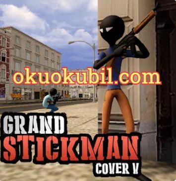 Grand StickMan Cover V 1.0.8 Çöp Adam Sınırsız Para Mod Apk İndir 2020