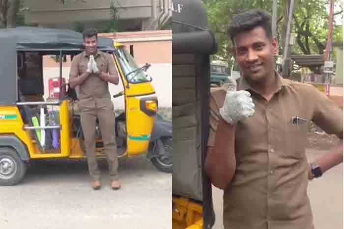 Snacks, Mini Fridge, TV and What Not: This Chennai Man's Autorickshaw Has it All   WATCH Video, Chennai, News, Auto & Vehicles, Technology, Business, Lifestyle & Fashion, National
