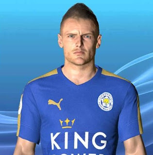 PES 2017 Faces Jamie Vardy FIX by Ben Hossam FaceMaker