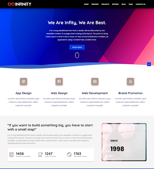10+ Best Free Portfolio Blogger Templates 2022