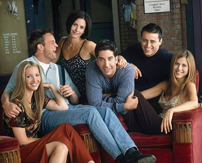 FRIENDS NO CINEMA - #PELAIINDICA