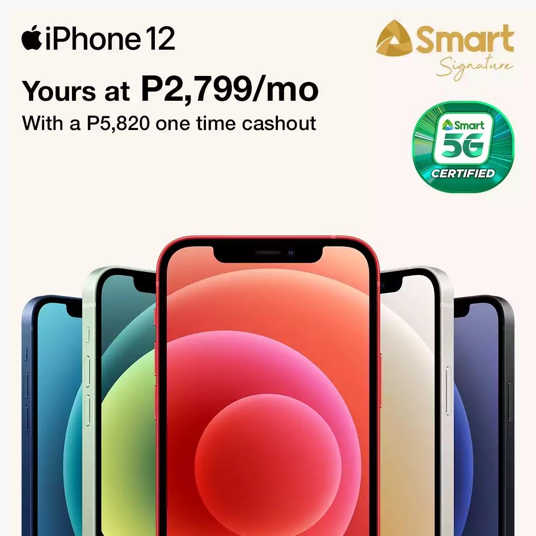 Smart iPhone 12 Signature 5G Plans