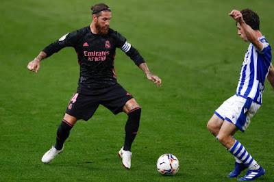 ملخص مباراة ريال مدريد وريال سوسيداد (0-0) في الدوري الاسباني