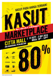 Kasut Marketplace Warehouse Sale Citta Mall 2016