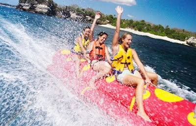 watersport paling murah banana Boat
