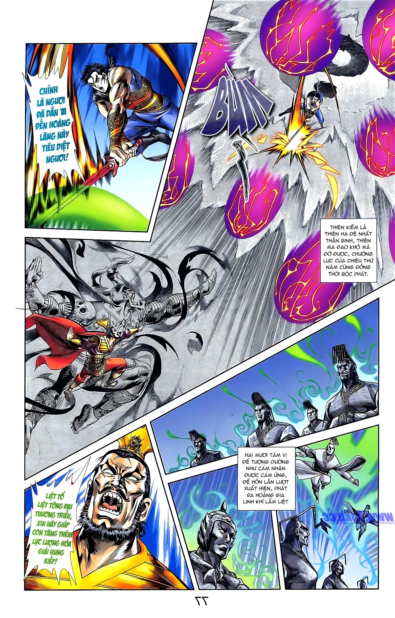 Cơ Phát Khai Chu Bản chapter 161 trang 5