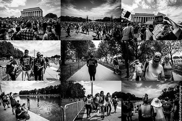 Kevin B. Jones Photography - The 2020 March on Washington on August 28, 2020