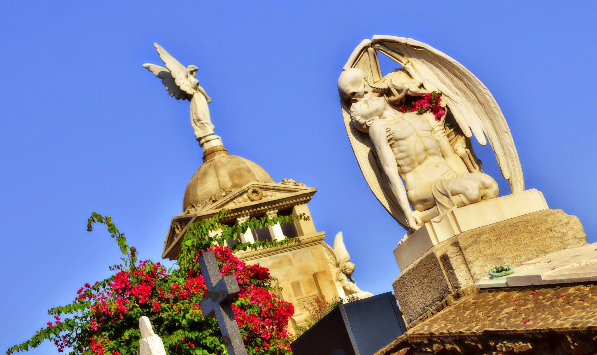 Cemetery of Poblenou (Barcelona, Spain)