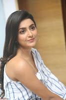 Avantika Mishra in One Shoulder Crop Top and Denim Jeggings ~  Exclusive 040.JPG