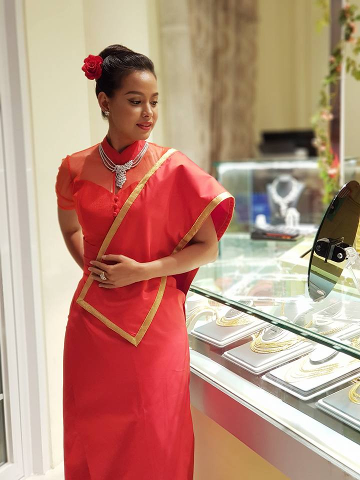 Ma Aye Thaung  Weekly Fashion Snaps