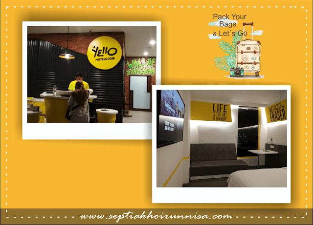 Hotel Yelo, penginapan yang nyaman dan kekinian