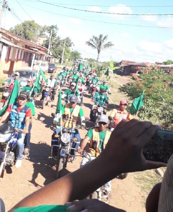 La campaña de Patzi en el departamento de Beni el sábado / MTS