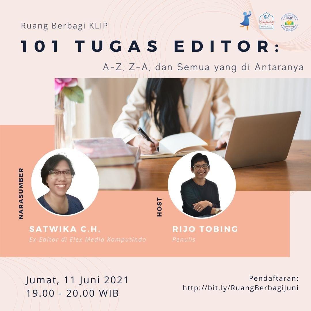 Profil Kak Wika Satwika Editor