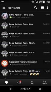 Download BBM BLACK V2.12.0.9 APK Terbaru Gratis