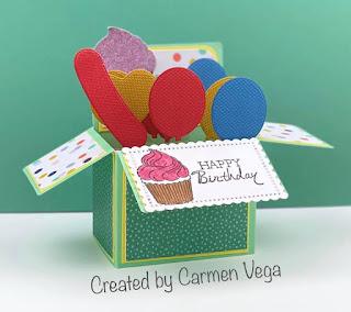 5 Birthday Card Contest Winner + Video Showcase #stampinup #imbringingbirthdaysback