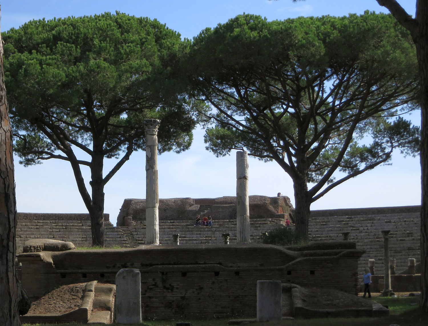 rome the second time ostia antica really old really close