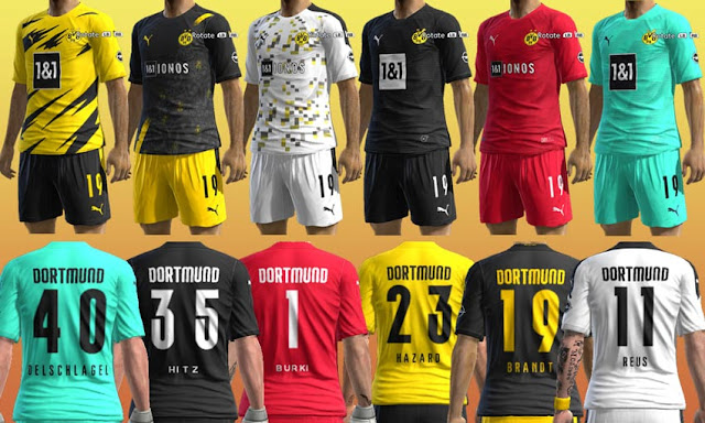Pes 2013 Borussia Dortmund 20 21 Kits