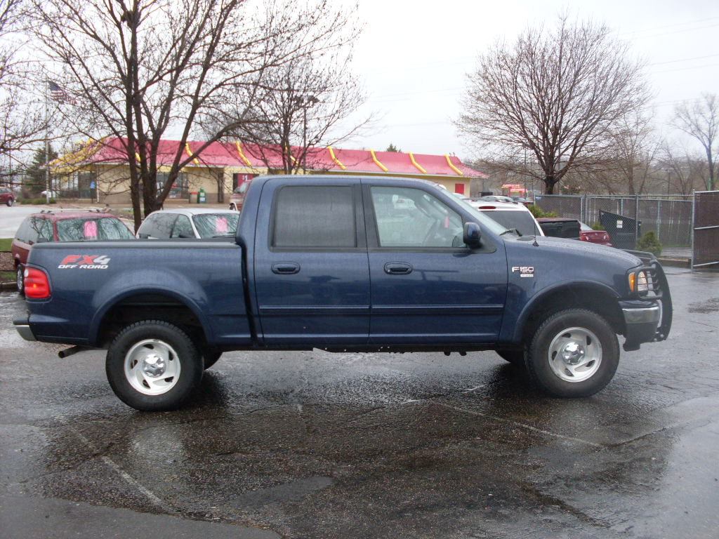 2003 ford f150 blue new pict