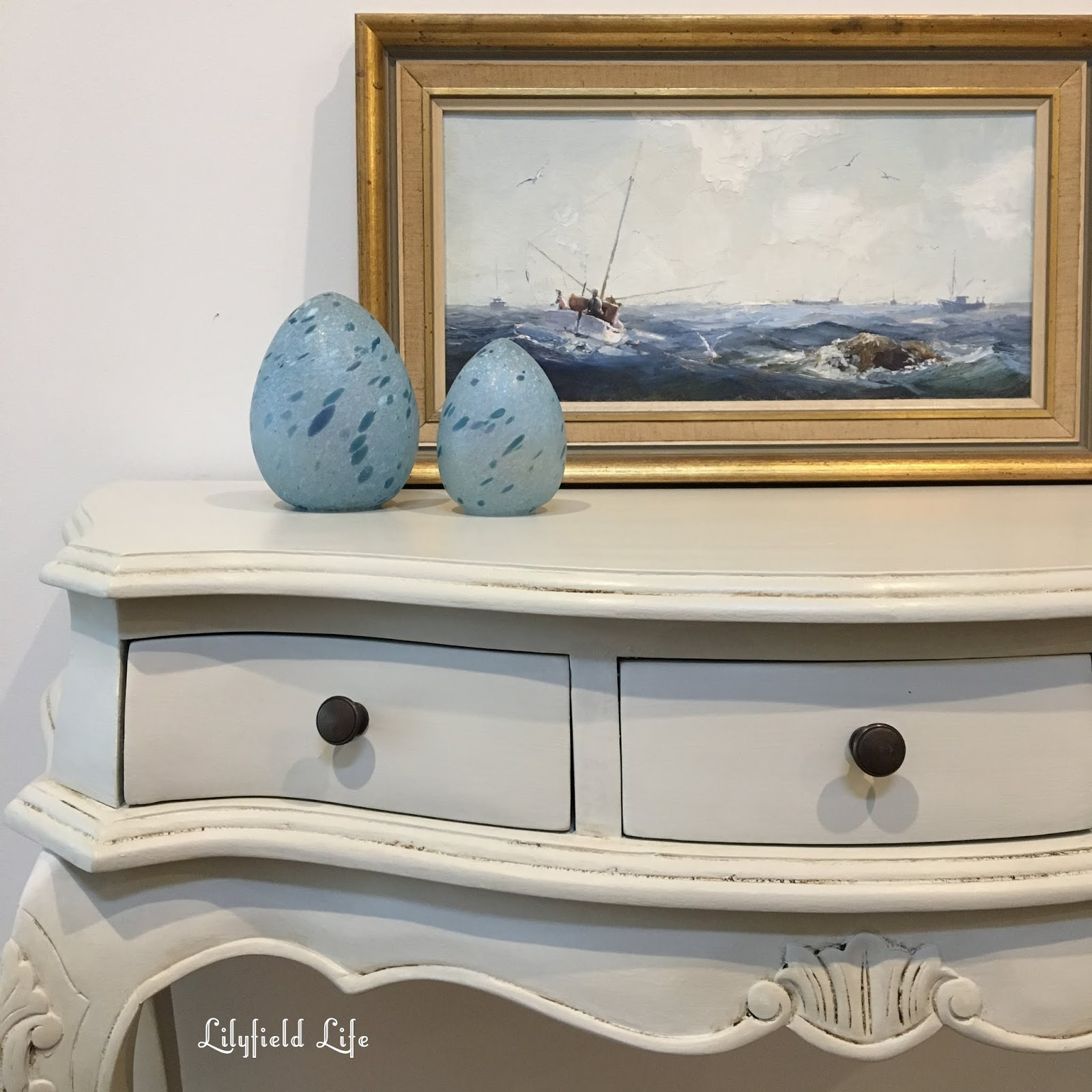 Lilyfield life lots of painted console tables beautiful hand painted vintage console tables perfect for your hallway by lilyfield life geotapseo Gallery