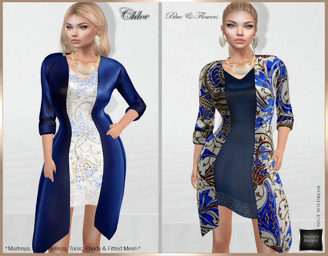 SASCHA'S DESIGNS - Chloe Duo Dress (MB & FM)