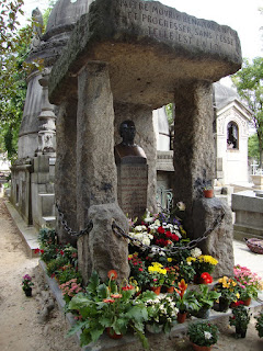 Photo de la tombe d'Allan Kardec
