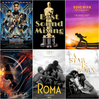 Best Sound Mixing 2019 Academy Awards