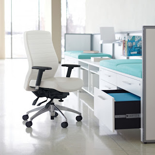 White Office Chairs at OfficeFurnitureDeals.com