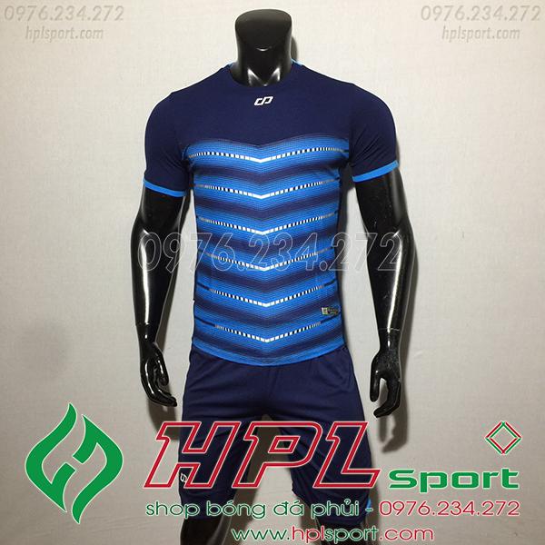 Áo ko logo CP LEG màu xanh ngọc