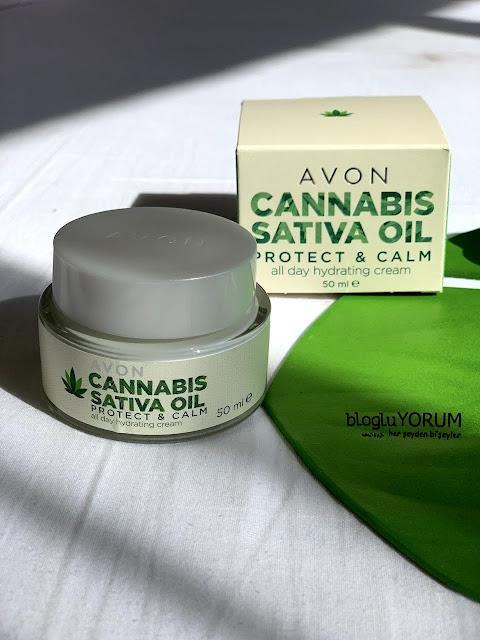 Avon Cannabis Sativa Oil Protect & Calm Kenevir Yağı Gündüz Kremi