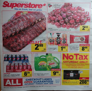 Real Canadian Superstore Flyer June 22 to 28, 2017