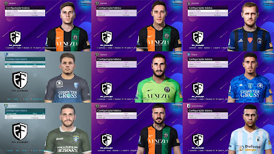 PES 2021 Facepack Serie B Vol 2