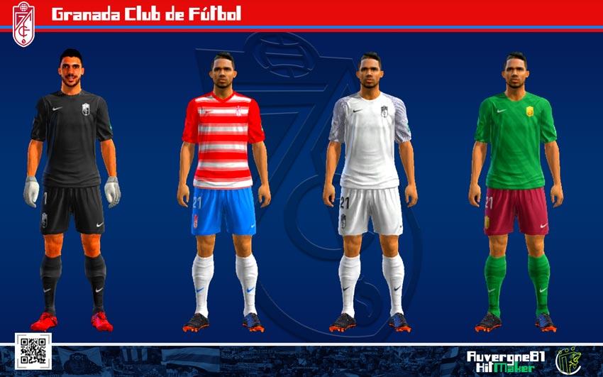 Kits CF Granada 2021-2022 For PES 2013