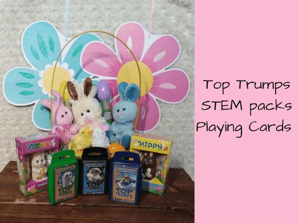 Top Trumps STEM packs ~ Easter Basket Fillers