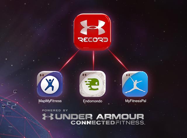 Under Armour lanza Record, su nueva app