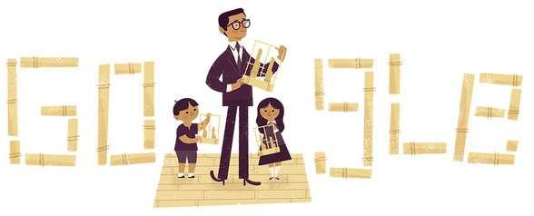 Logo Google Hari ini Daeng Soetigna Bapak Angklung,ini Fakta Dan Biografinya