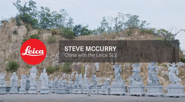 Steve McCurry - China with the Leica SL2